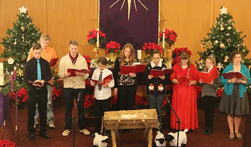 worship - youth choir